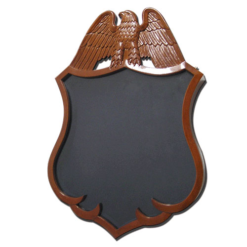 Police Badge Shadow Box Model 1
